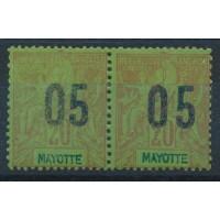 Mayotte - Numéro Paire 24 - Neuf avec charnière