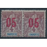 Mayotte - Numéro Paire 22 - Neuf avec charnière