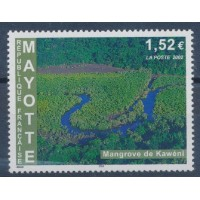 Mayotte - Numéro 129 - Neuf avec charnière