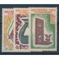 Comores - Taxe 29 à 31 - Neuf sans charnière