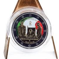2 Euros Italie 2018 - Colorisé Neuf
