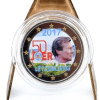 2 Euros Lettonie 2017 - Colorisé Neuf