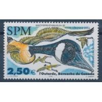 St Pierre & Miquelon - Poste Aérienne 84 - Neuf sans charnière