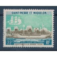 St Pierre & Miquelon - Numéro 411 - Oblitéré