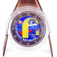 2 Euros Slovenie 2017 - Colorisé Neuf