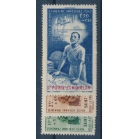 Saint Pierre & Miquelon - Poste Aérienne 1 à 3 - Neuf avec charnière