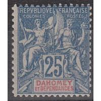 Dahomey - Numéro 4 - Neuf avec charnière