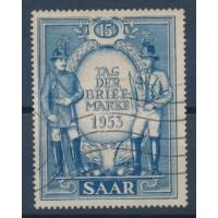Sarre - Numéro 321 - Oblitéré