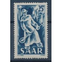 Sarre - Numéro 261 - Oblitéré