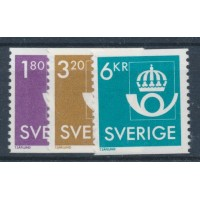 Timbre Suède - numéro 1400 à 1402 - Neuf avec Charnière