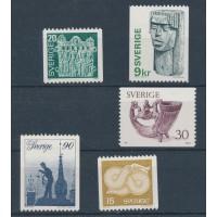 Timbre Suède - numéro 934 à 938 - Neuf avec Charnière