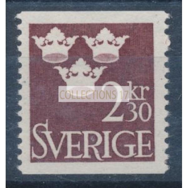 Timbre Suède - numéro 477A - Neuf avec Charnière