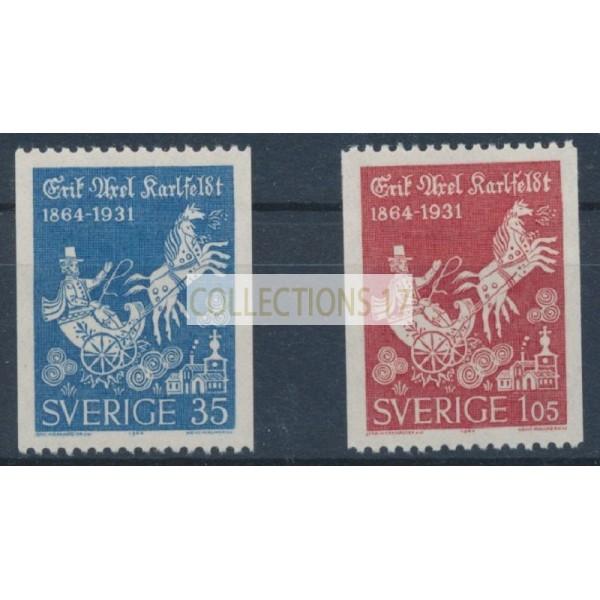 Suède - numéro 514 à 515 - Neuf avec Charnière