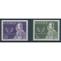 Suède - numéro 527 à 528 - Neuf avec Charnière