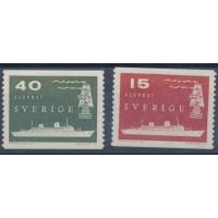 Suède - numéro 427 à 428 - Neuf avec Charnière