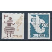 Suède - numéro 1219 à 1220 - Oblitéré
