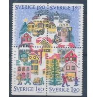 Suède - numéro 1391 à 1394 - Neuf sans Gomme