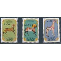 Sierra Leone - numéro 1247 à 1249 - Neuf sans Charnière