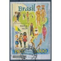 Brésil Bloc Feuillet - numéro 107 - Oblitéré