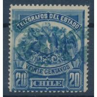 Chili Télégraphe - numéro 3 - Oblitéré