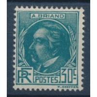 France - Numéro 291 - Neuf avec Charnière