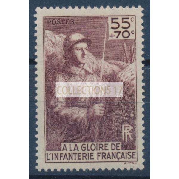 France - Numéro 386 - Neuf sans Charnière