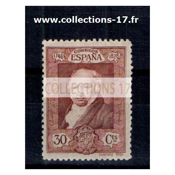 Espagne - Numéro 419 - Charnière
