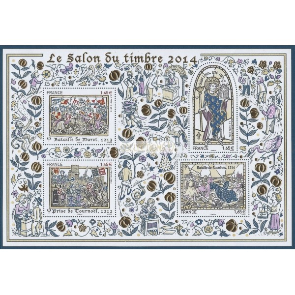France Bloc Feuillet - 2014 Timbres BF 135 - Neuf
