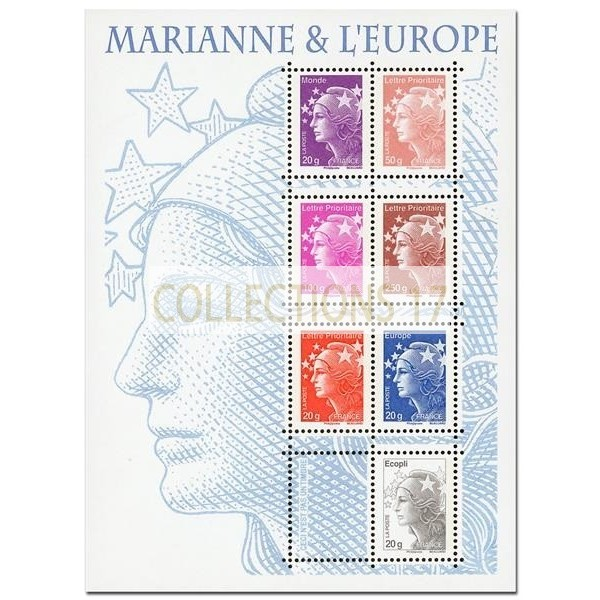 Feuillet France 2011 Timbres F4614 - Neuf