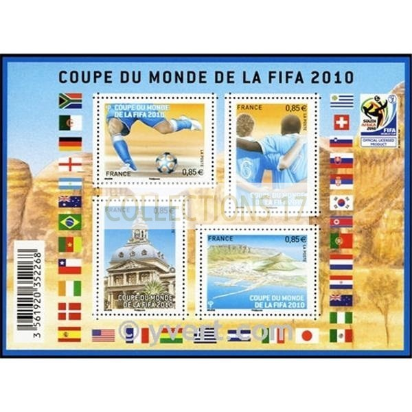 Feuillet France 2010 Timbres F4481 - Neuf