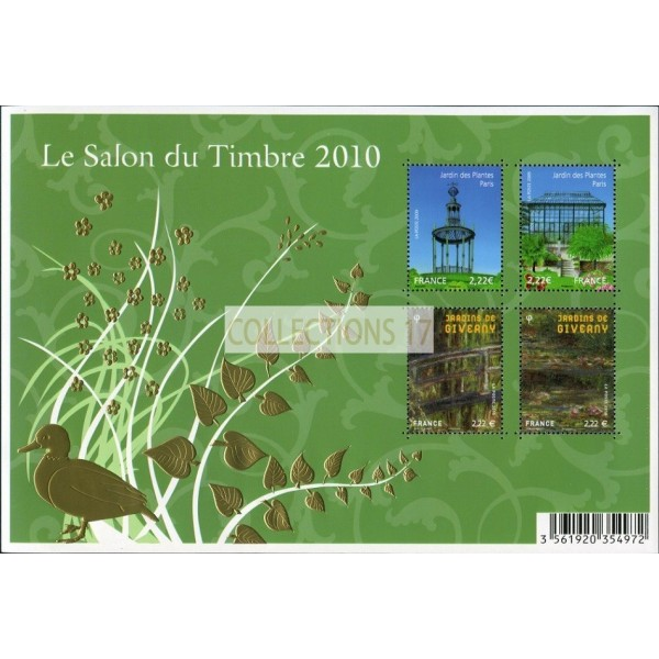 Feuillet France 2010 Timbres BF130 - Neuf