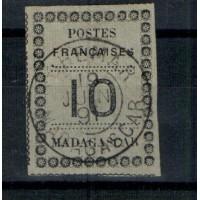 Madagascar numéro 9 - oblitéré