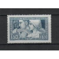 France - numéro 252 - Neuf avec charnière