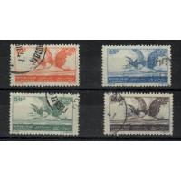 Liban - Poste Aérienne 7 à 10 - Oblitéré