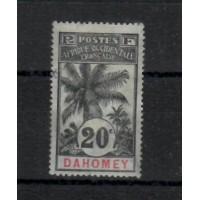 Dahomey - numéro 23 - oblitéré