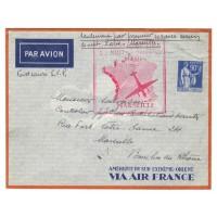 France ancienne enveloppe 1939 - numéro 368 - Oblitéré
