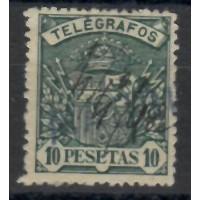 Espagne Telegraphe - Numéro 38 - Oblitéré