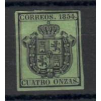 Espagne Service - Numéro 3 - Neuf avec Charnière