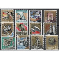 Espagne - numéro 1026 à 1037 - Neuf sans Charnière