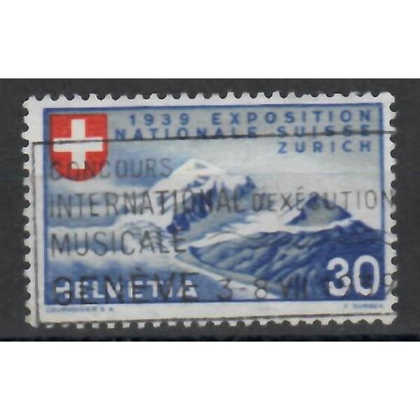 Suisse - numéro 322 - Oblitéré