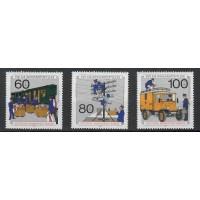 Allemagne Fédérale - Numéro 837 à 839 - Neuf sans Gomme