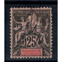 Madagascar numéro 35 - neuf avec charnière