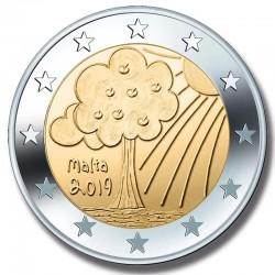 2 Euros Malte 2019 Nature...