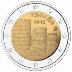 2 Euros Espagne 2019 - Avila