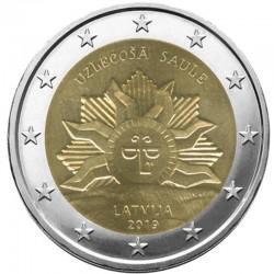 2 Euros Lettonie 2019 -...