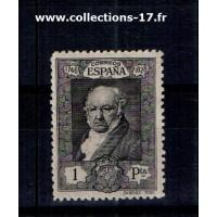 Espagne - Numéro 422 - Charnière