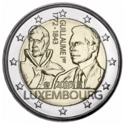 2 Euros Luxembourg 2018 -...