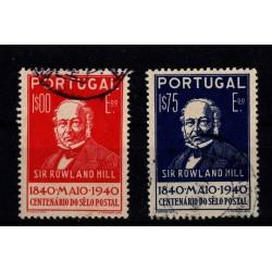 Portugal - Numéro 606 à 607...