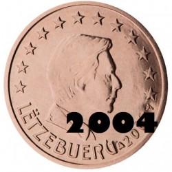 2 Centimes Euro Luxembourg...