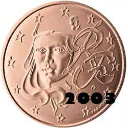 1 Centime Euro France 2003...